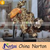 Modern custom new fashion small resin fish statues for sale NTRS-AD007Y