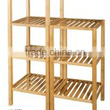 Livingroom Bamboo Storage Shelf