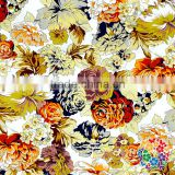 Cotton Material Country Rose Floral Cotton Textile Fabric 100% Cotton Fabric