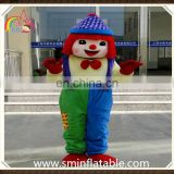 Classical clown mascot costume, plush fancy dress costume for adult