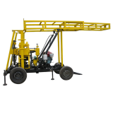 Cheap price four wheels trailer drilling rig