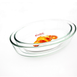 oval glass baking dish