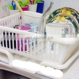 Grace white plastic dish rack