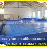 Hot sale large PVC0.9mm inflatable swimming pool for adult and kids use inflatable swimming pool