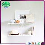 Beauty Clear Acrylic Bookcase Lucite Shelf Divider Wall Mounted Plexiglass Display Shelf