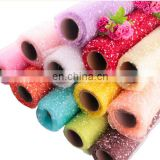 colorful and shinny foam mesh tulle for flower wrapping