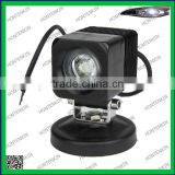 10W, CE, RoHs, IP67 approval, for mining, agricultural and heavy duty machine LED work light bar light