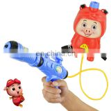 2016 summer outdoor plastic toy guns water gun with a backpack