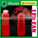 New arrival mini message fan glovion portable handle programmable fan led programmable fan