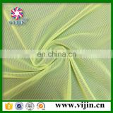 warp knitted embroidery spandex mesh fabric sports