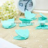 butterfly plastic clip, plastic clips with butterfly shape