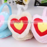 Factory wholesale heart-shaped earmuffs for girls and lady