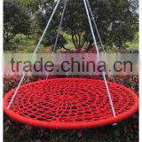 round garden swing metal swing for children net swing children swings