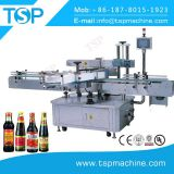 Automatic Three Sides Sauce Glass Bottle Sticker Labeling Machine