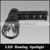 3.7V3Ah lithium battery lighyt weight JG-T61-LA cree T6 10w led handheld super bright spotlight for maintenance