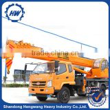 Quality Small 8 Ton Truck Crane Mobile Crane For Sale