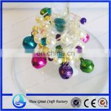 Jingle Bell Wine Charms-Christmas Wine Charms Winter Wedding Favor-Holiday Wine Glass
