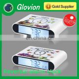 New design stamp plastic clock for kids best for print logo