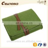 CR 80% customer repeat order new cheap Individual wholesale canvas cosmetic bag