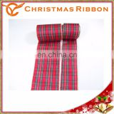 Associated With Scotland And Ireland Christmas Ribbon