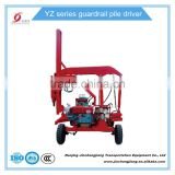 YZ 230 Roadside Hydraulic Safety Metal Guardrail Installation Equipment
