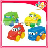 2013Newest Cute Cartoon Pull Line Car,Mini Pull Line Car 4Style Mix