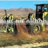 650mm width and 2000mm depth military trenching machine, big power military trencher