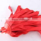 Colorful non woven fabric mop with plastic hook/ mop head