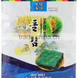 Delicious Rock Roasted Seaweed Laver Nori 20g(0.70oz) x 10packs / Seafood / Seaweed