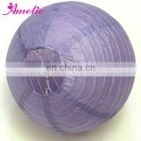 A36PL DIY holiday supplies purple paper lanterns
