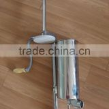 3L vertical sausage stuffer table use
