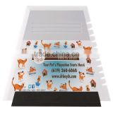 Full color scraper / squeegee. Comes with your full color logo.