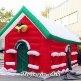 Red Inflatable Christmas House for Decoration