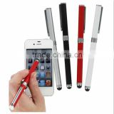 2 in 1 Multi function Stylus pen , touch screen ball pen