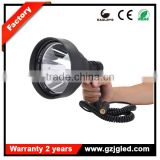 Guangzhou led lights china wholesale CREE 15W led super bright outdoor lighting handheld spotlight hunting