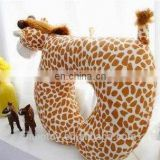 china factory toys u shape neck pillow travel pillow giraffe toys for kids