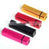 Fashionable mini universal portable charger oem power bank 2600mAh gift power bank