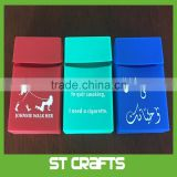 Promotion Gift Custom Logo Branding Factory Direct Supply Waterproof Silicone Rubber Cigarette Cases