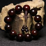 India lobular red sandalwood beads hand on wooden beads
