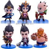 2016 new design cute mini League Of Legends pvc figure carton LOL game doll figures