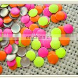2013 hot sale yellow/red/green,star/round/square fluorescence nailhead