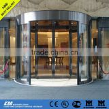 Anhui Mount Huang hotel, 2 wing automatic revolving door, safety glass, stainless steel surface, UL CE certificate