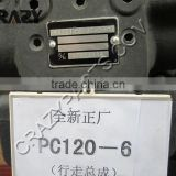 Excavator PC120-6 hydraulic pump parts DOOSAN GM18 final drive & excavator travel motor