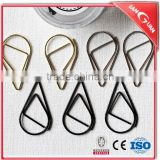 Wholesale hot selling customer logo water-drop shape gold paper clips
