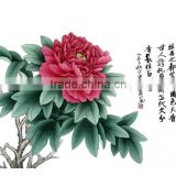Wholesale chinese pure handmade calligraphy home wall decor calligraphy painting