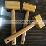 2017 wholesale natural bamboo kitchen meat hammer