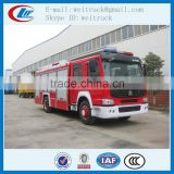 high performance 4x2 266hp 8cbm cheap water fire truck for sale