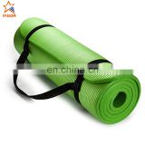 rubber wholesale printed logo floating anti slip gym mat