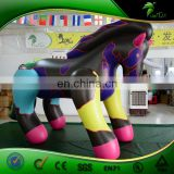 Custom Color Printing BIg Inflatable Horse, Ride On Hongyi Toy