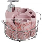 Wholesale luxury simply hotel cheap china bathroom accessory